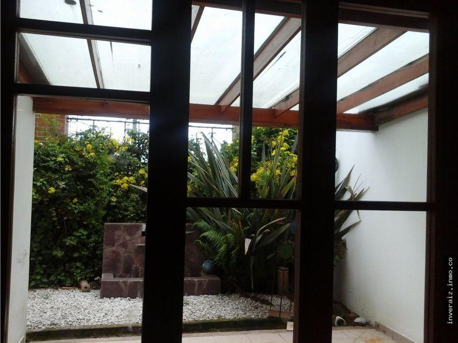 vendo casa en chia la balsa 266 mts yg