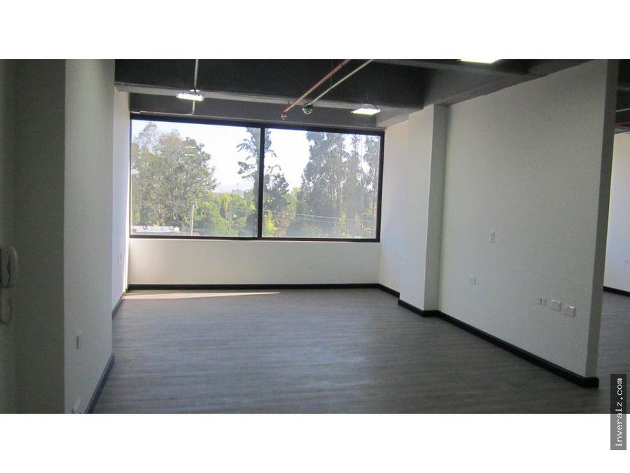 vendo oficina 70 m2 cajica edificio nou ja