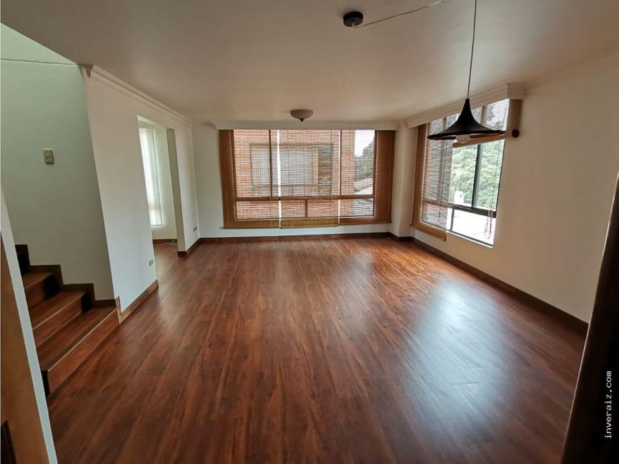 vendo apartamento duplex en cedritos ov