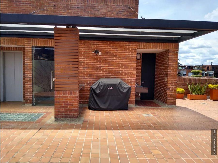 arriendo apto exterior 78 m2 en santa barbara central ja