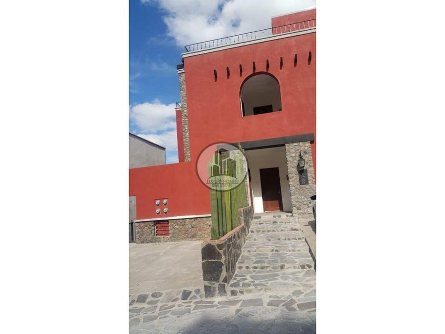 departamento de lujo en venta capilla de piedra