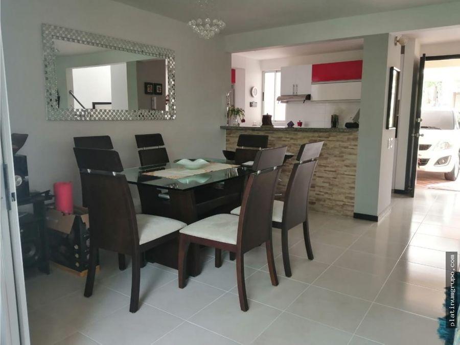casa en venta en condominio en alfaguara jamundi ac fd