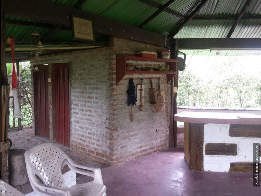 casa campestre recreo via a potrerito