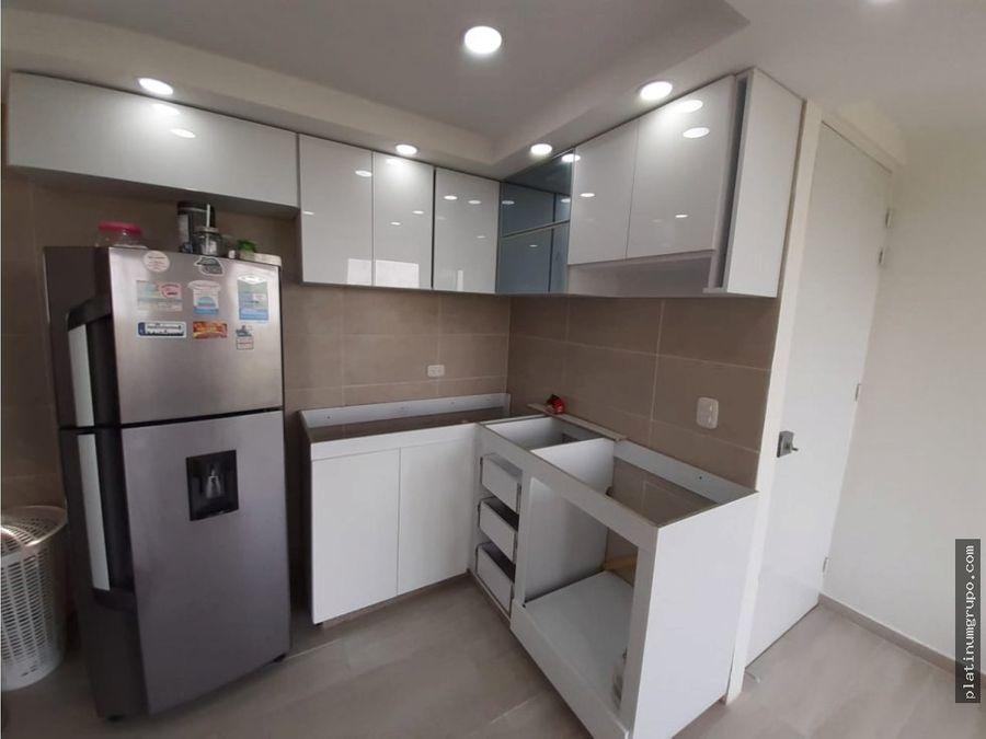 apartamento en venta en condominio en lili cali dc