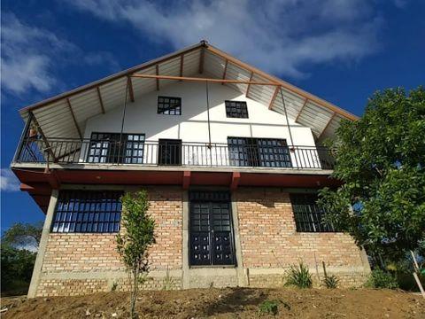 casa campestre en vereda la puentecita via cali popayan en