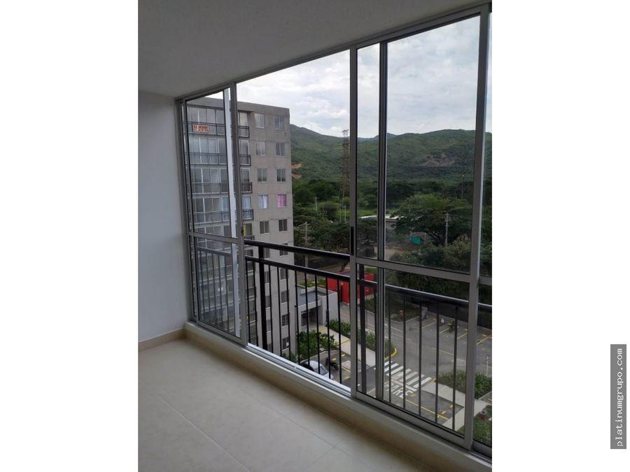 apartamento en venta en condominio en ciudad guabinas yumbo da