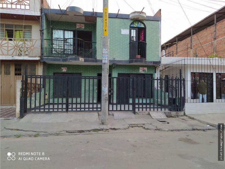 casa bifamiliar en venta en aguablanca cali jc
