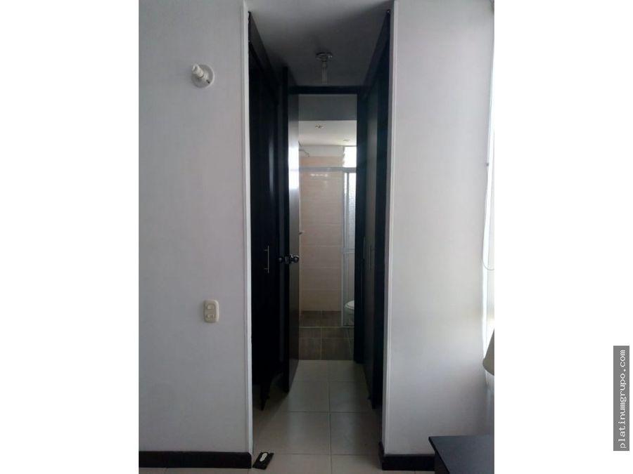 apartamento amoblado en arriendo en condominio en lili cali jc