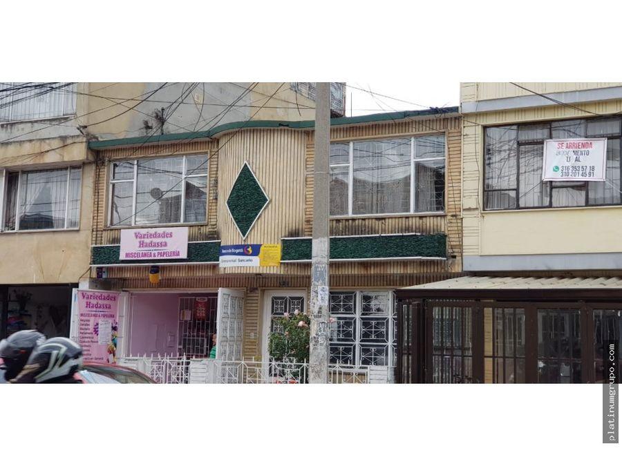 casa independiente en venta en santa isabel bogota en