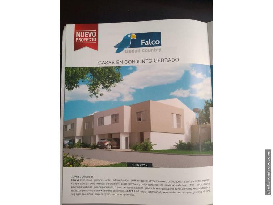 vendo casa proyecto const ciudad country lam