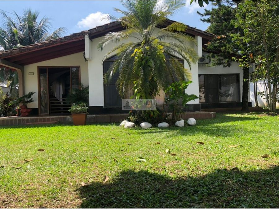 casa campestre en venta en parcelacion en el hormiguero cali ab