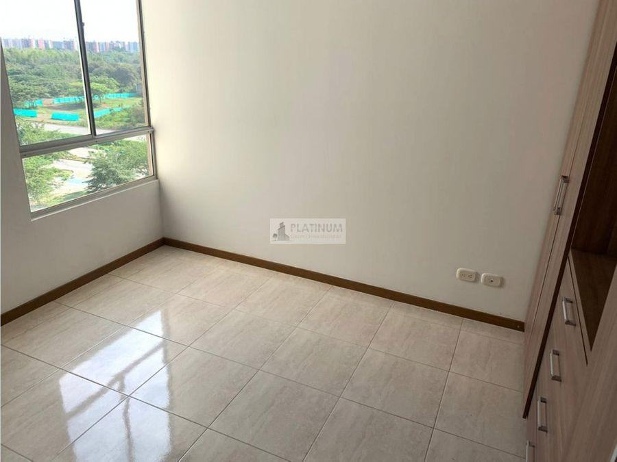 apartamento en venta en conjunto en bochalema cali