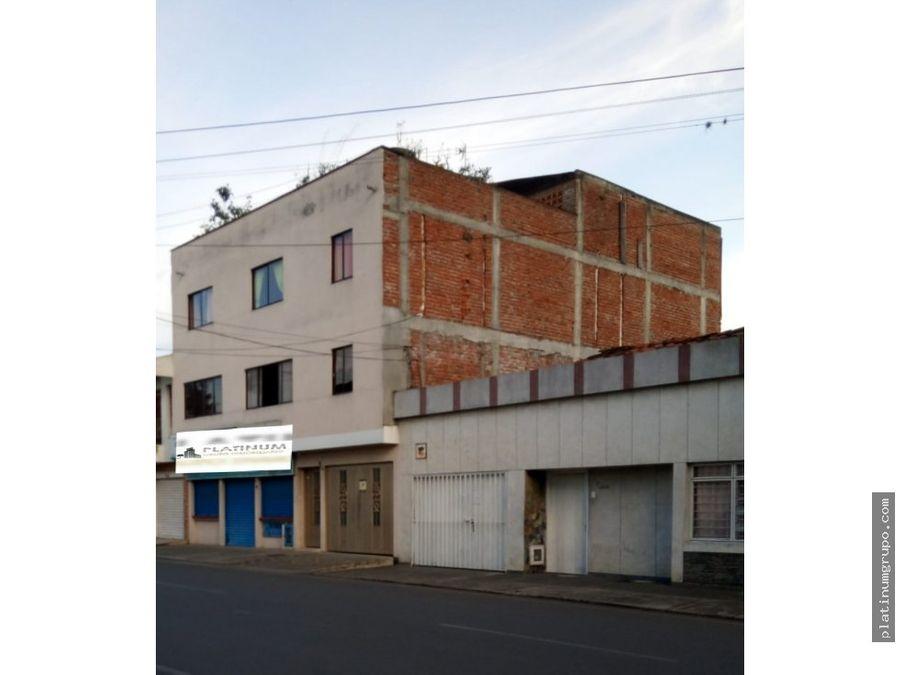 se vende edificio 4 plantas en tulua v da