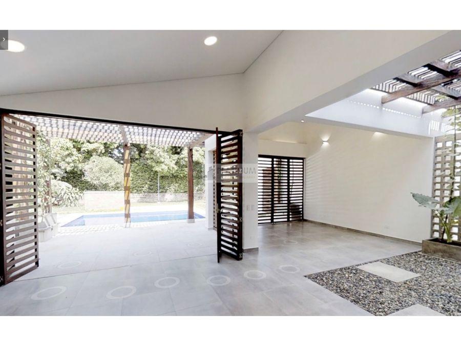 casa independiente en venta en la morada jamundi