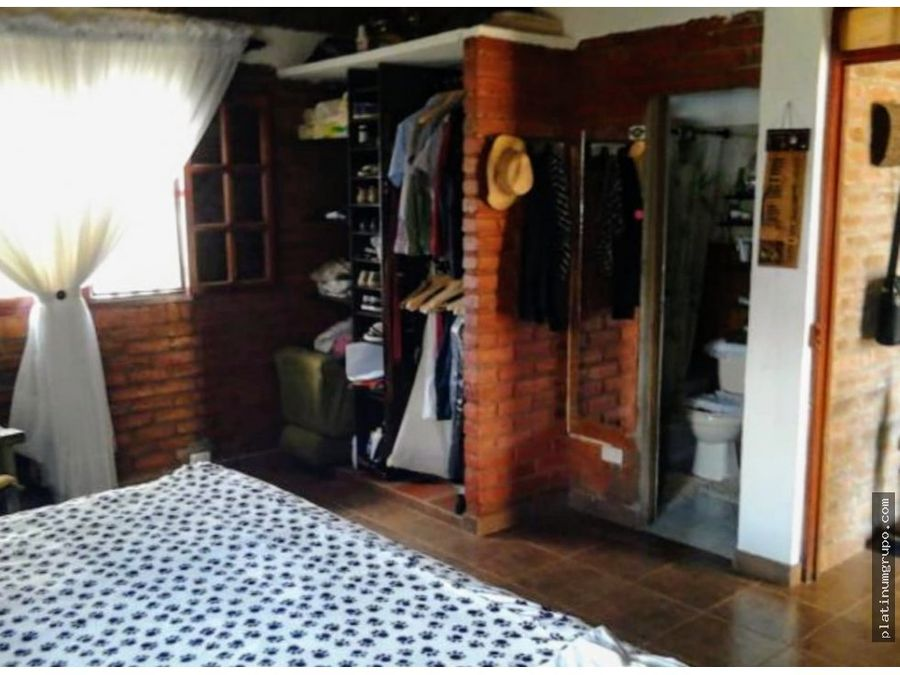 casa campestre en venta en zabaletas restrepo valle cg df