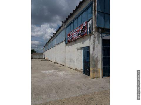 galpon en zona industrial la guacamaya
