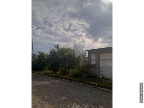 en venta terreno residencial en manongo