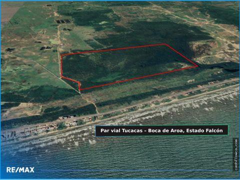 terreno residencial comercial 140 hectareas tucacas falcon