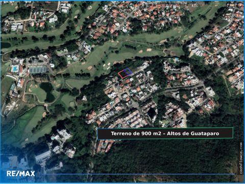 terreno residencial de 900 m2 altos de guataparo valencia carabobo