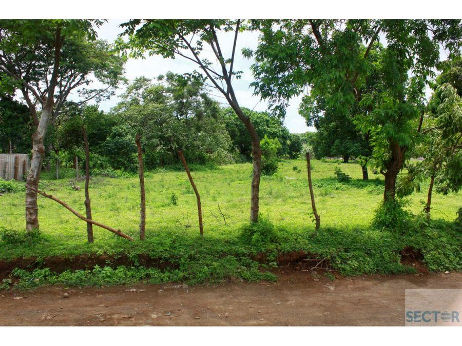 carretera a masaya km 13 terreno en venta