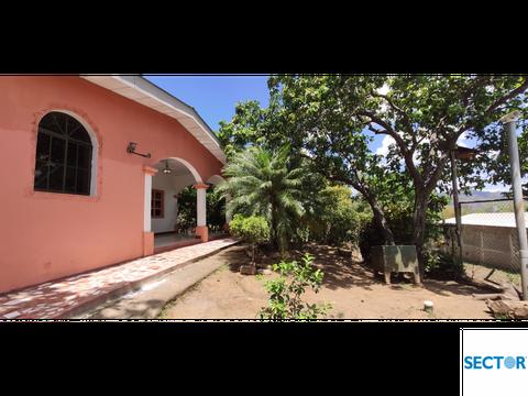 casa y terreno amplio ticuantepe