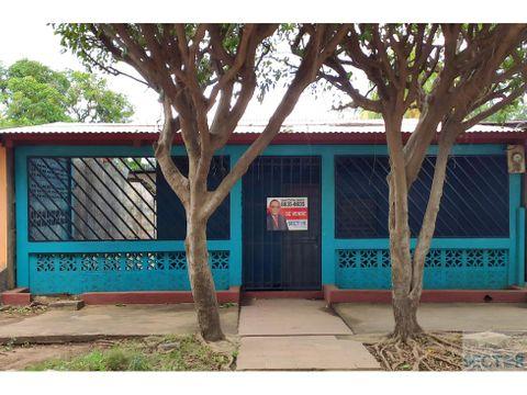 barrio laureano mairena casa en venta