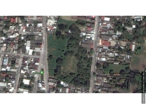 venta terreno urbano la sevillana comalcalco