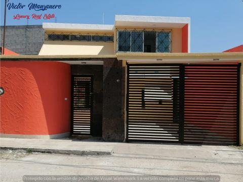 tierra colorada casa en venta 3 recamaras 3 banos en villahermosa tab