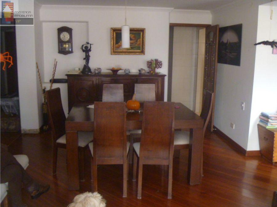 venta apartamento santa barbara 140 m