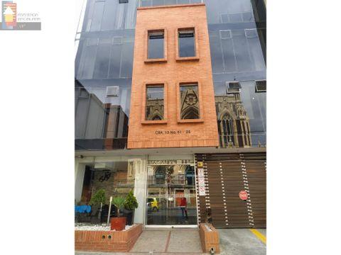 venta oficina zona chapinero 1354 mtrs