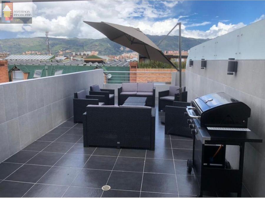 venta penthouse con terraza batan 3 habitaciones