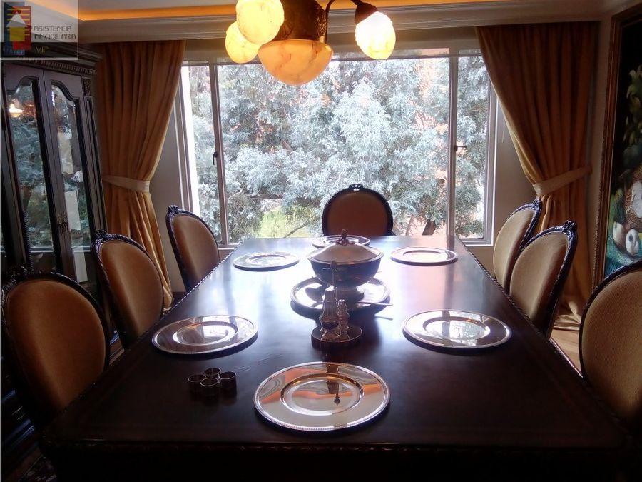 venta apartamento 400 m2 bosque medina 4 habitac