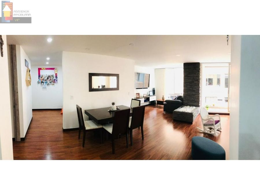 venta apartamento en chico navarra 140 mtrs balcon