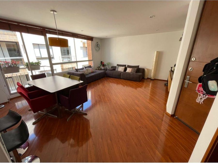 venta apartamento en santa barbara 109 mtrs