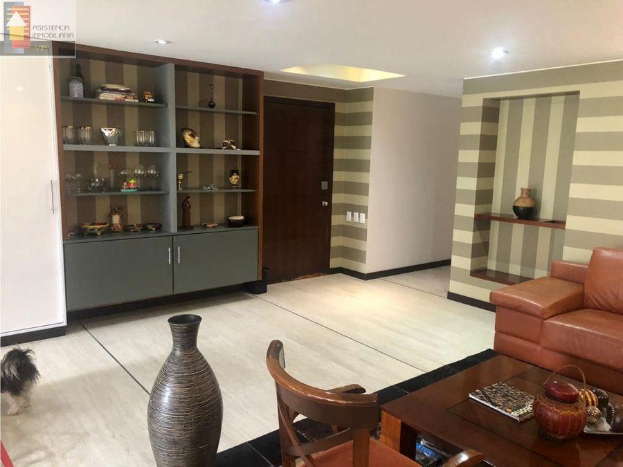 venta apartamento santa barbara con terraza 9 mtrs