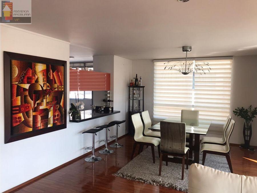 venta apartamento en santa barbara 180 mtrs