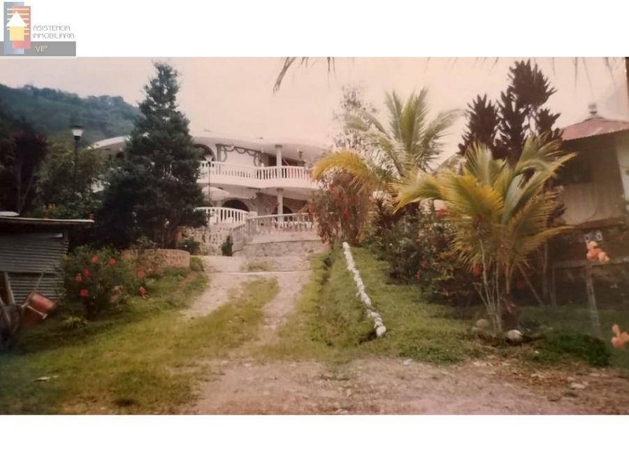 venta casa en la vega cundinamarca