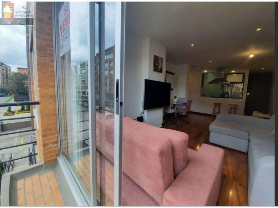 venta apartamento santa barbara 72 mtrs con balcon