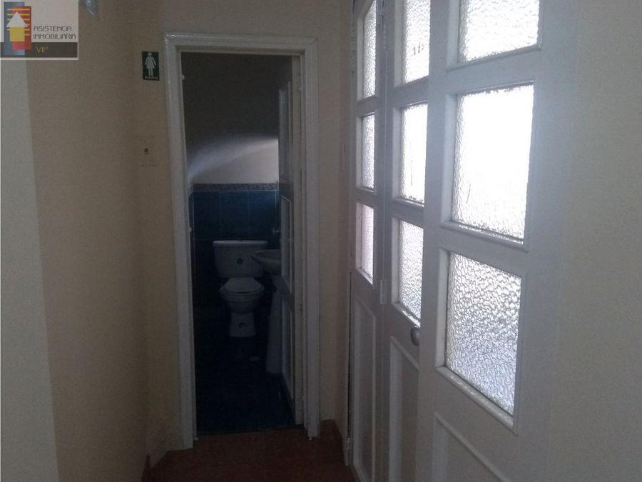 arriendo casa oficinasempresas san luis chapinero