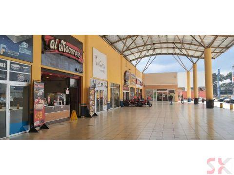 local en renta con buena exposicion dentro de centro comercial