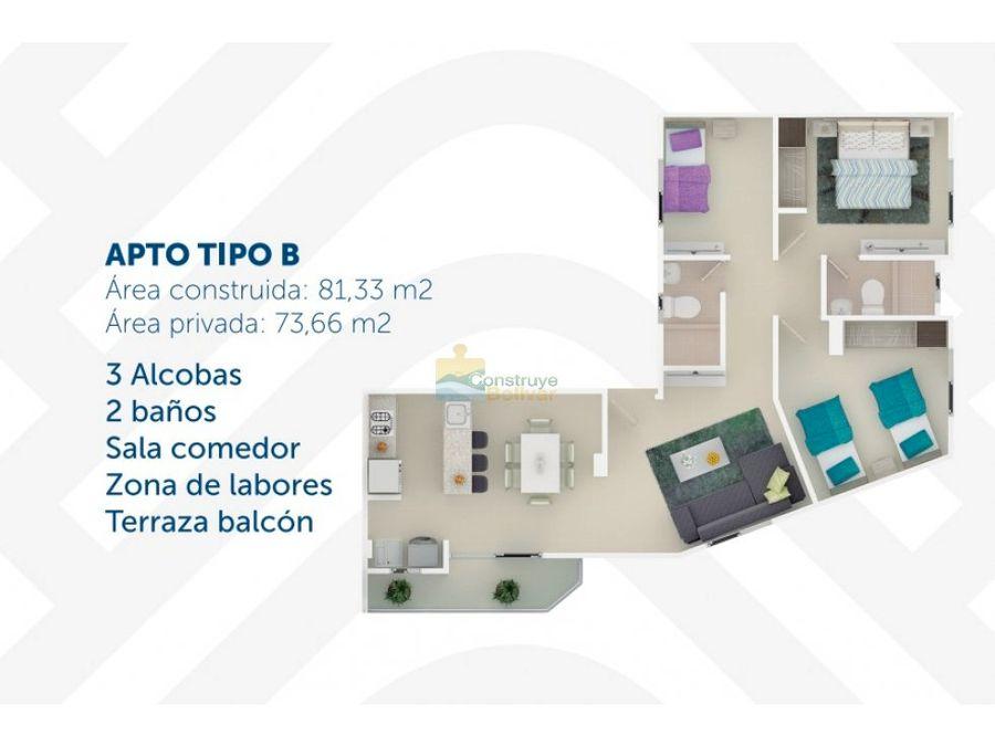 Edificio Valens Apartamento Tipo B Los Alpes