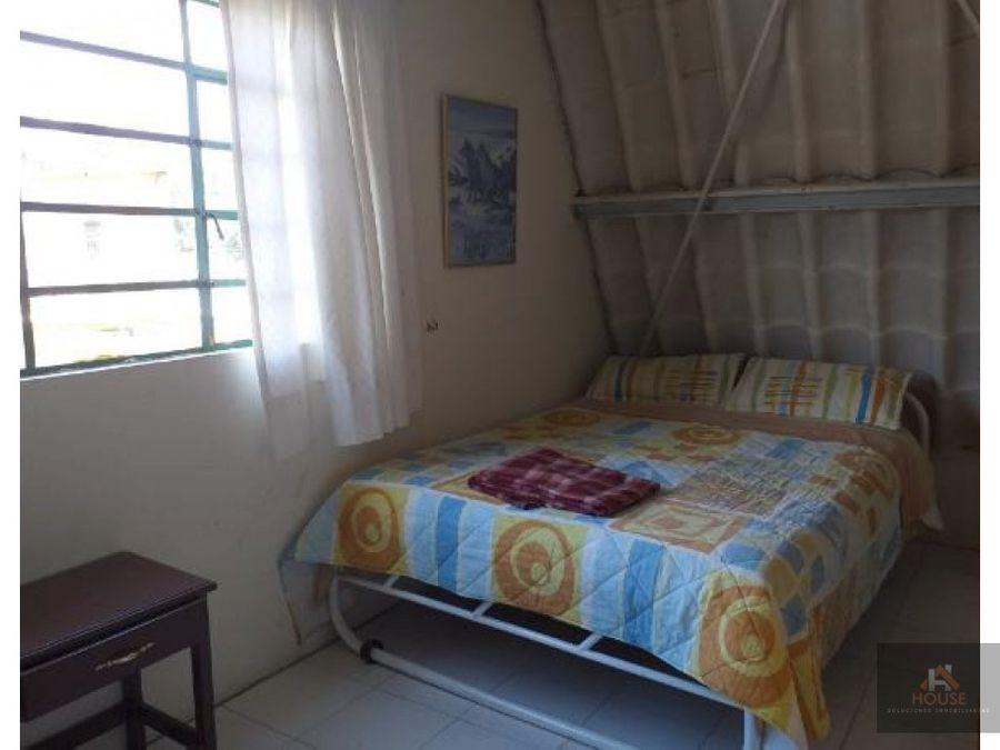 se vende casa de descanso en chinauta amoblada