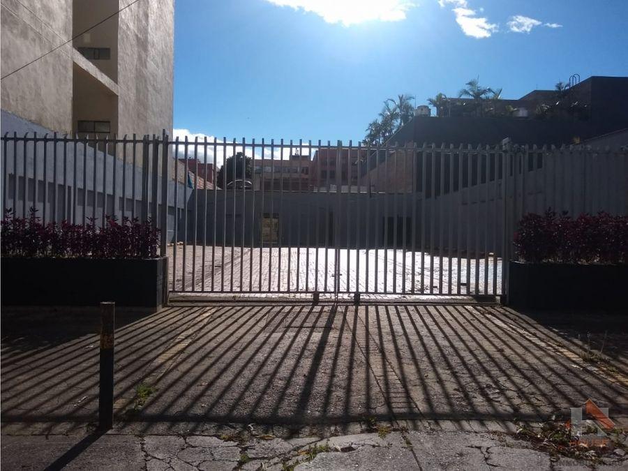 lote en venta uso residencial sector santa barbara