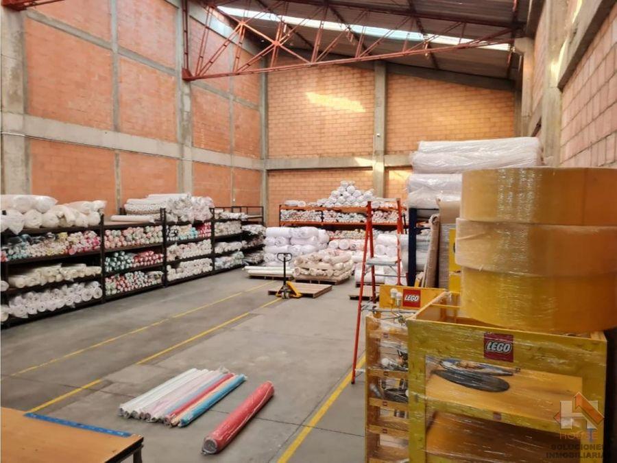 bodega en venta sector montevideo zona industrial