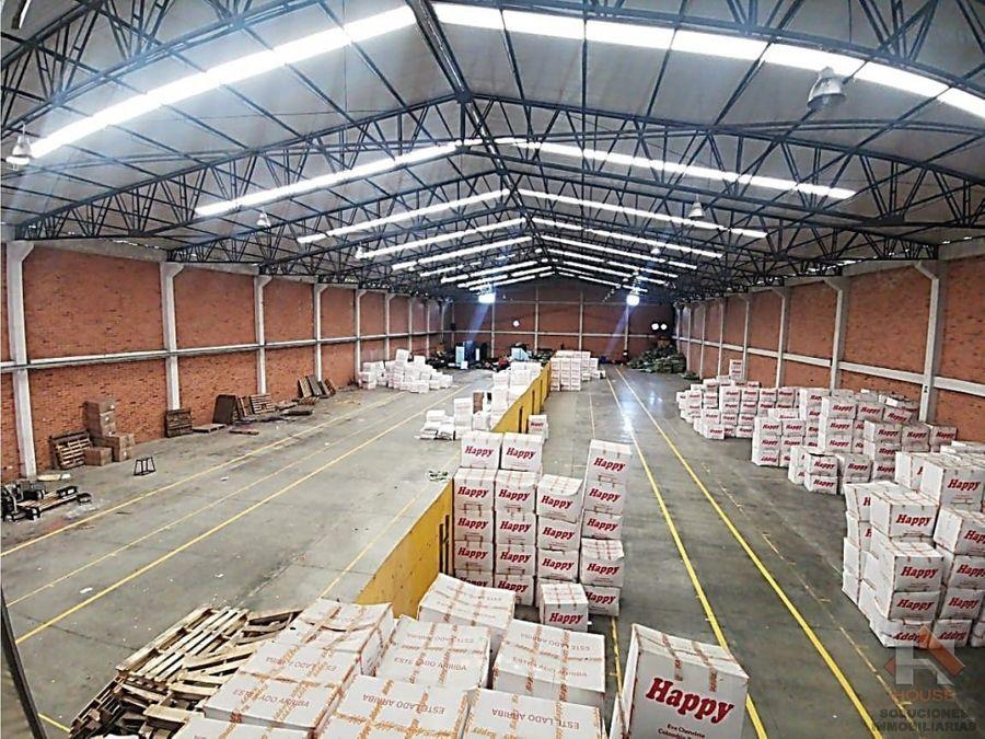bodega en arriendo venta sector funza parque industrial