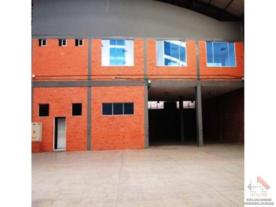 bodega en arriendo sector funza parque industrial