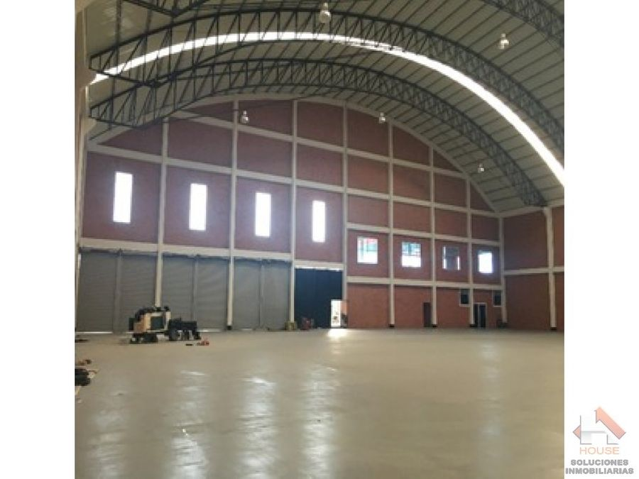 bodega en venta 3400m2 zona mosquera parque industrial
