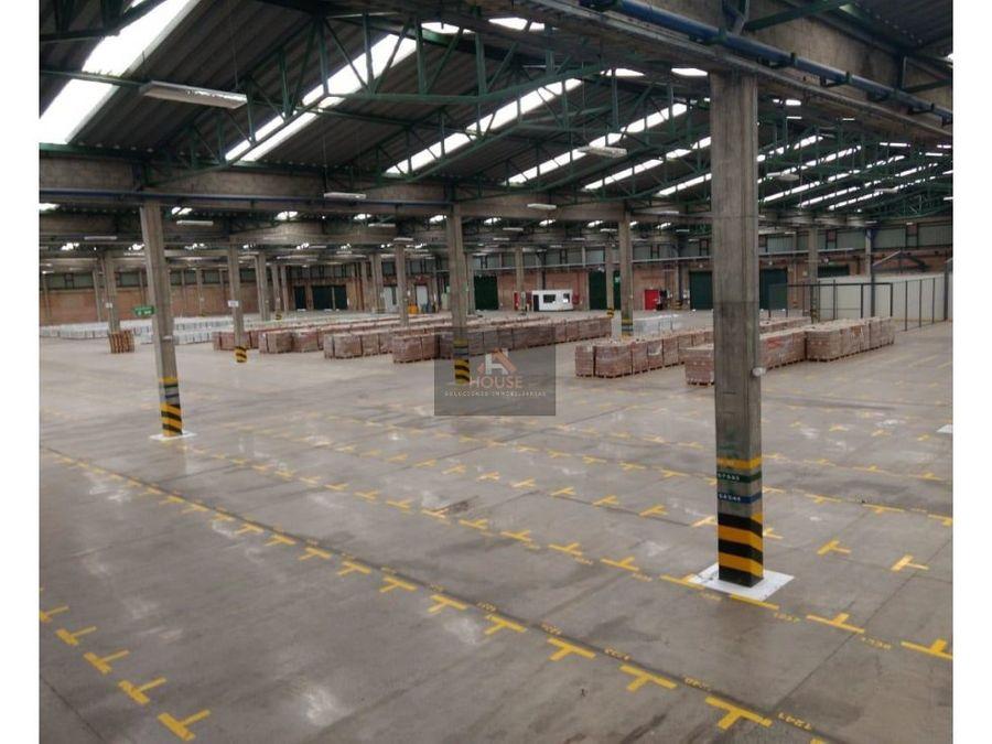 bodega en arriendo mosquera parque industrial