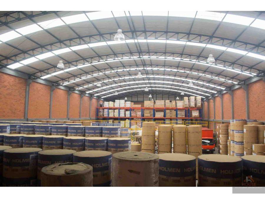 bodega en venta funza parque industrial