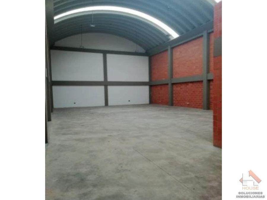 bodega en venta tunja 600m2 parque industrial
